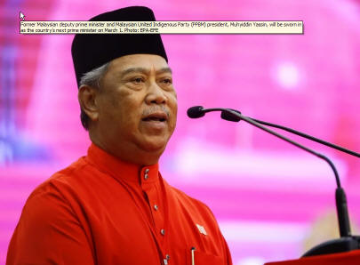 Muhyiddin Yassin appointed 8th Prime Minister of Malaysia