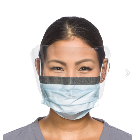 Give the face masks to people who need them more
