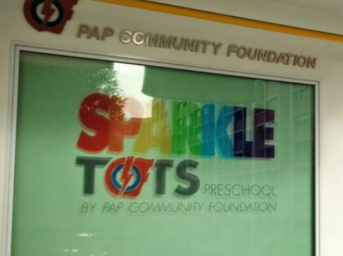 Four young children infected by Covid-19 at PCF Sparkletots...