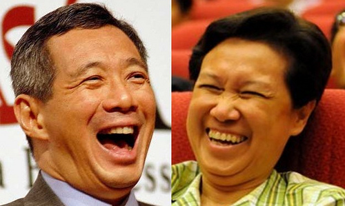 The Only Ones Making the Government a Laughing Stock Are Lee Hsien Loong and His Sia Suay Wife