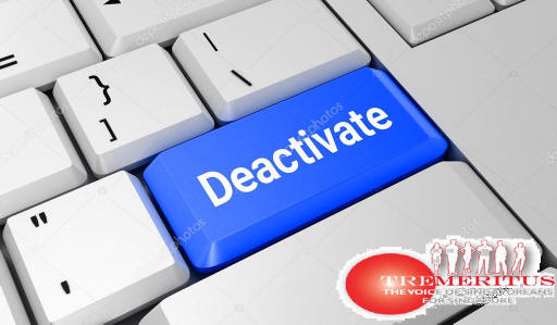 TR Emeritus to be deactivated on 8th July 2020 @ 2300...