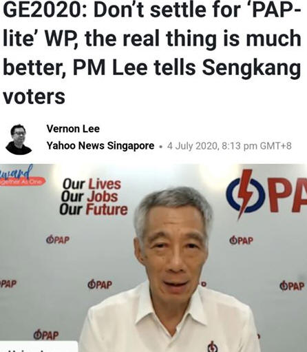 The PAP candidates at Sengkang have really not proven...