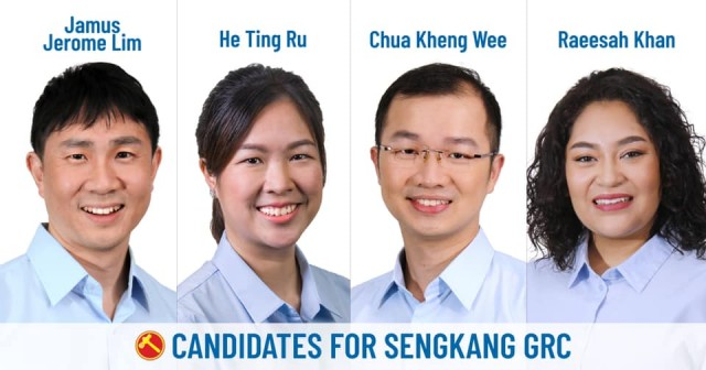 GE2020: Workers Party's Sengkang GRC team thank supporters