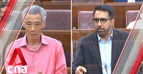 Lee Hsien Loong is so condescending