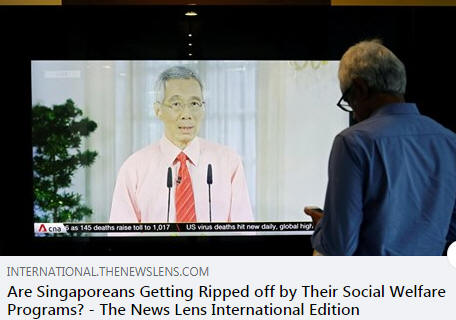 Are Singaporeans Getting Ripped off by Their Social Welfare Programs?